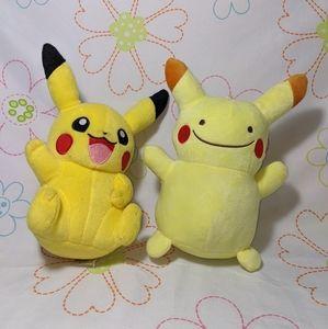 Pikachu plushies 🐻 BUNDLE